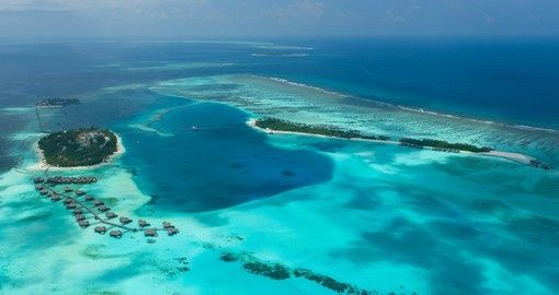 Conrad Maldives Aerial View