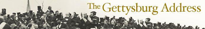 Exhibition Items - Gettysburg Address | Exhibitions - Library of Congress
