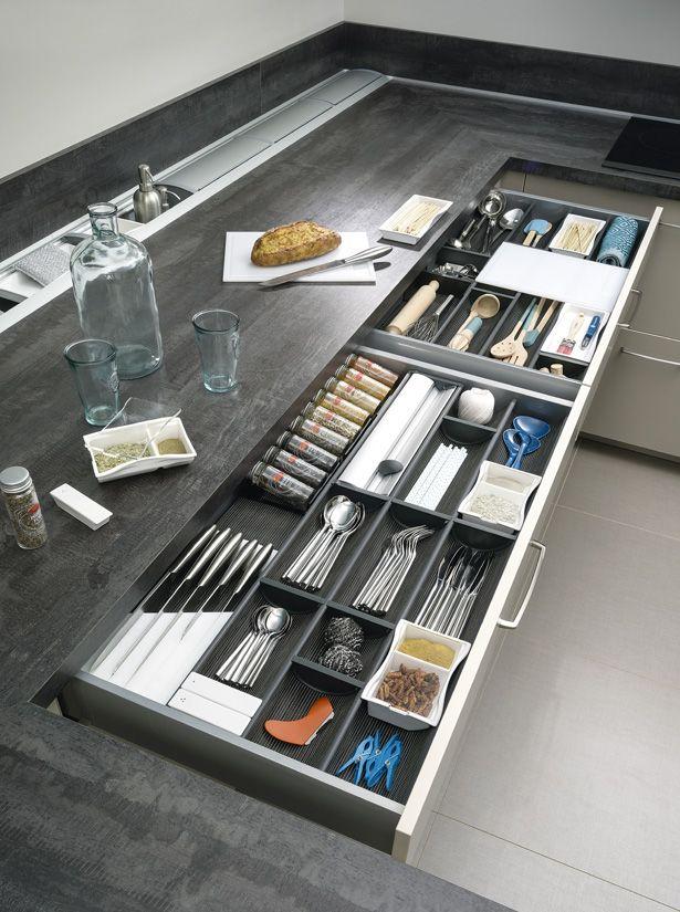 7 вариантов хранения кухонной утвари