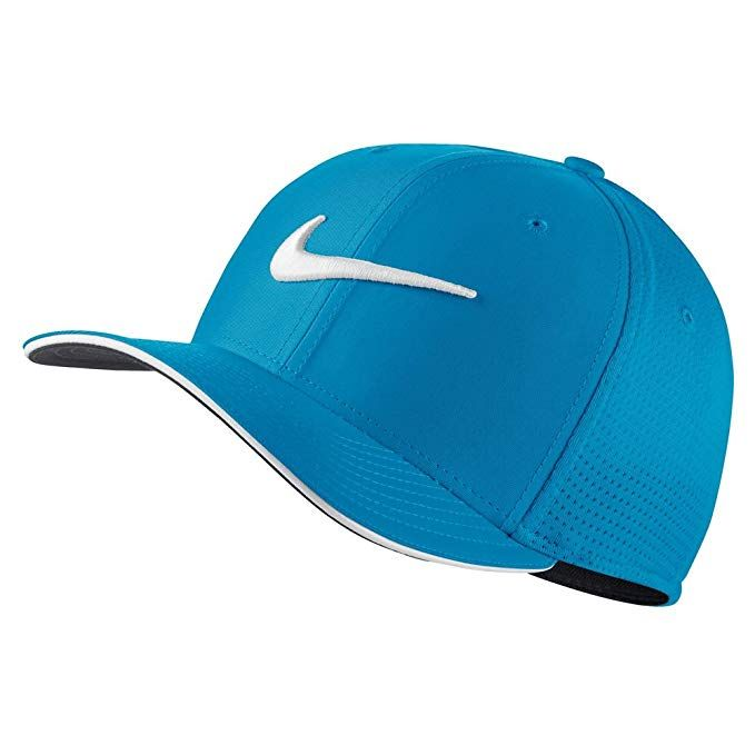 Nike Classic 99 Mesh Golf Cap 2017 Blue Fury White Anthracite Medium Large  Review 394f087b0eb0