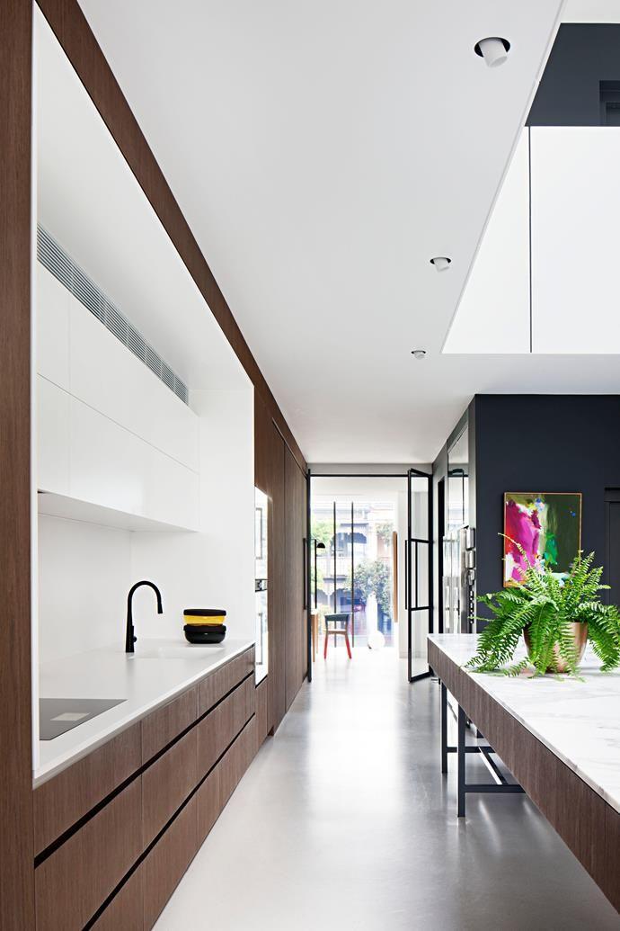 Luxury timber kitchen.  Photo: Shannon McGrath   Story: Belle