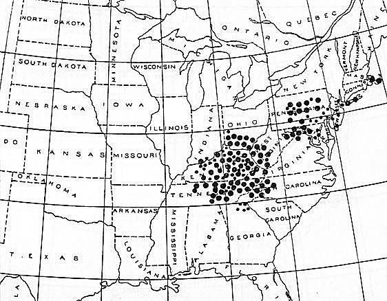 Each population of cicadas that emerges in the same year is called a brood. These brood maps identify the approximate locations where each of the 15 periodical cicada broods emerge. The maps combine the data of C. L. Marlatt (1923), C. Simon (1988), and unpublished data. Broods I-XIV represent 17-year cicadas; the remaining broods emerge in 13-year cycles.
