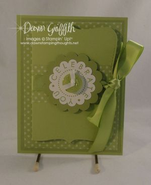 Top Note gift card holder
