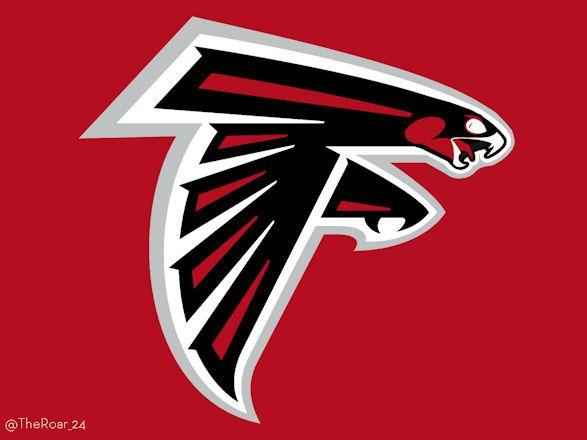 Halcones de Atlanta Logos de la #NFL al estilo Disney