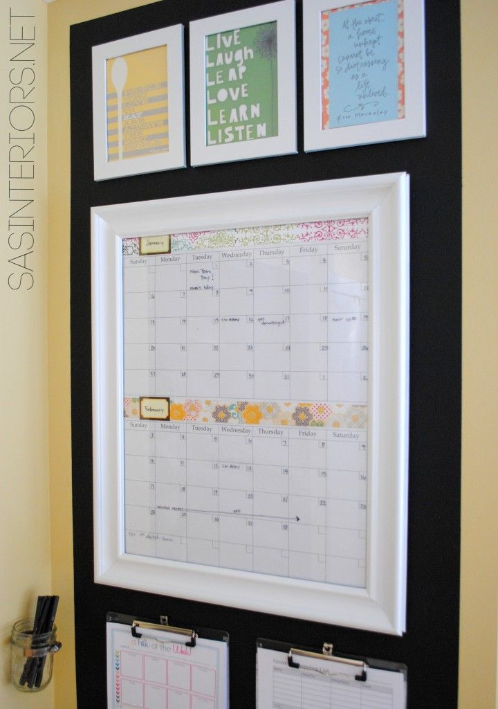 Double Time Kids Calendar : Best images about command center ideas on pinterest