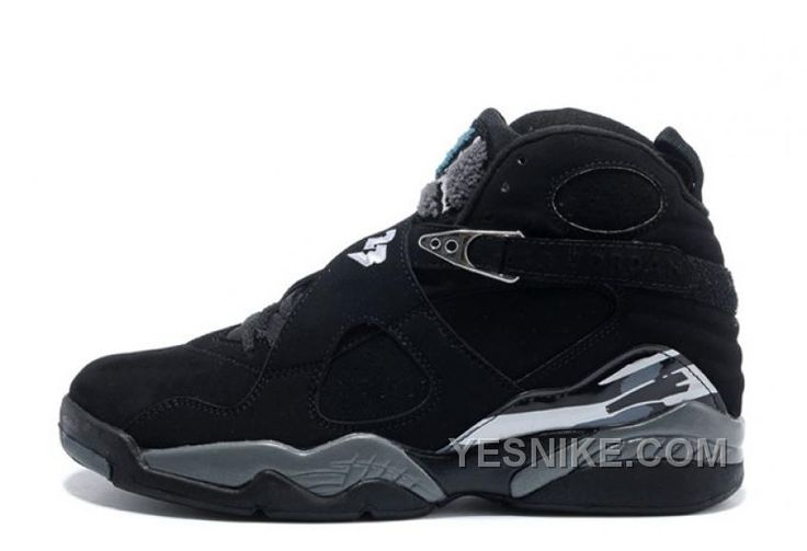 Air Jordan 8 Retro Black/Chrome Cheap For Sale Online