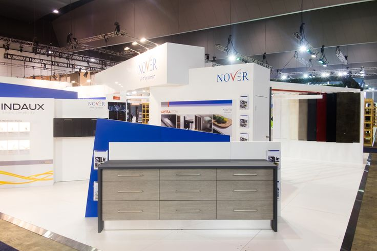 Nover Australia Custom Exhibition Stand @ AWISA 2016  Melbourne Exhibition and Conference Centre