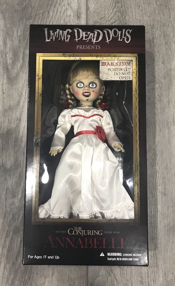 "NEW MEZCO TOYZ LIVING DEAD DOLLS THE CONJURING ""ANNABELLE"" HORROR COLLECTIBLE #MezcoToyz #Dolls"