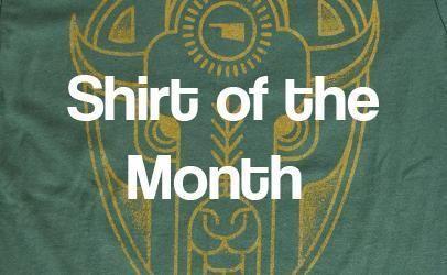Oklahoma, Shirt, Company, Screen Printing, Shirt of the Month, Okie, Local, Thunder, Custom apparel, custom screen printing, t shirt, tee shirt, tshirt