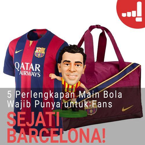 Artikel Lulu  5 Perlengkapan Main Bola Wajib Punya untuk Fans Sejati Barcelona