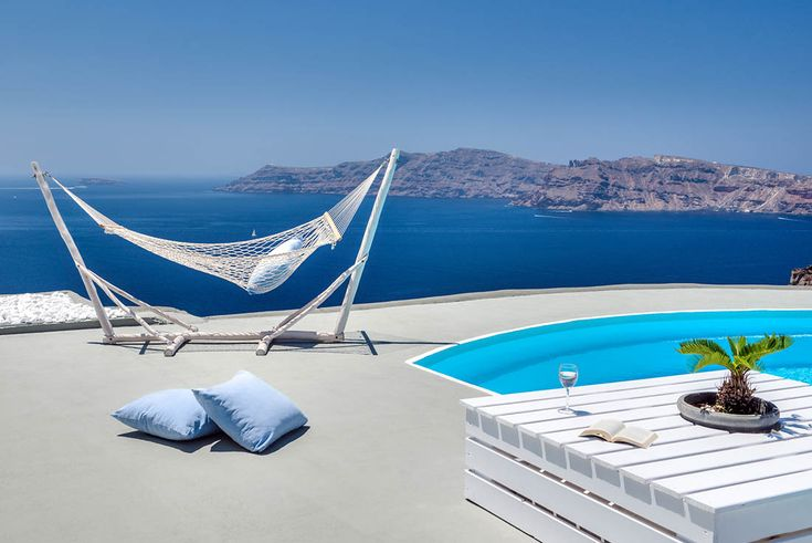 Ivy is an amazing villa with private pool in Santorini!