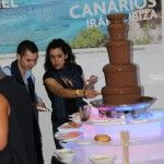 Fuente de Chocolate en evento de Kamel