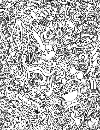 This Is A Fun Drawing Just Pen And Ink For One