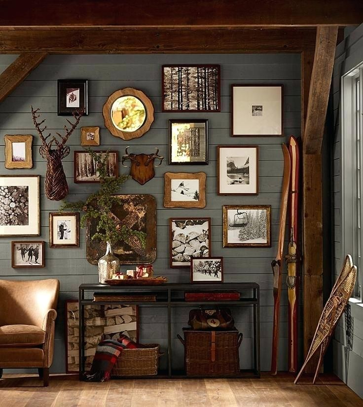 Pin By Hanna Macdonald On Cabin In 2020 Living Decor Man Cave Wall Decor Lodge Decor