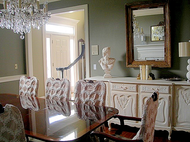 88 best socal white house  dining/living room combo