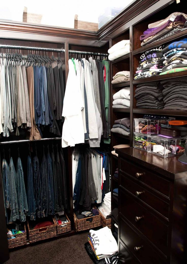 Mens Closet 42 best men's closet images on pinterest | walk in closet, master