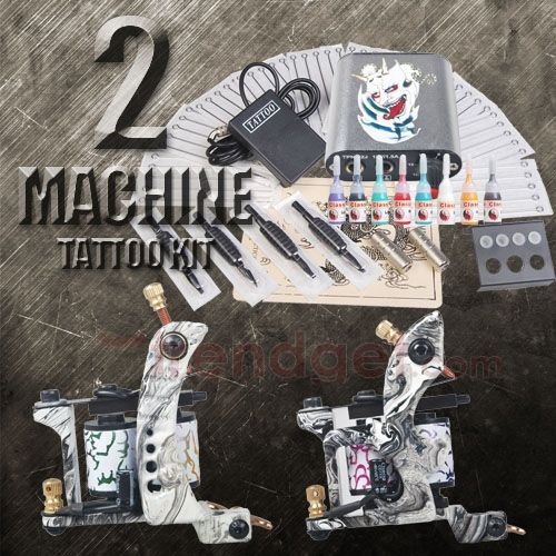 100 grinder classic 4 gun tattoo 102 best diy for Pirate face grinder tattoo kit