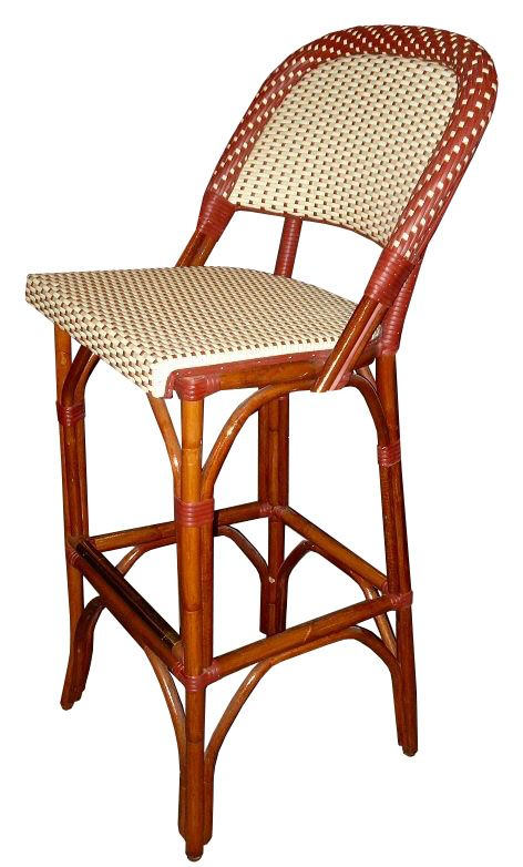 1000 images about french bistro chairs and bar stools custom weave patterns by wa hoo designs - French bistro barstools ...