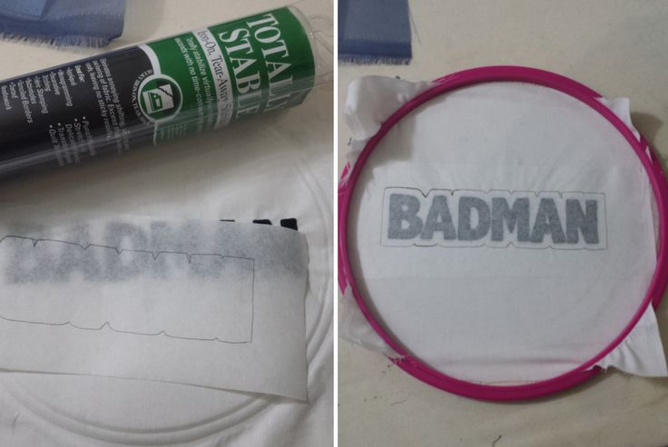 Make your own embroidery patches