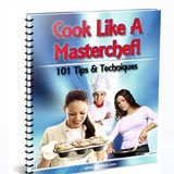 """""""Cook Like A Masterchef!"""" 101 Tips & Techniques To Get You Started. Discover The Answers To All those Questions You Have About Being A (Much) Better Cook!. You don't need to be a professional to implement these fantastic techniques into your own cooking today. #PLR package includes: Salespage & Download Page, eCovers, psds for web graphics and covers, source word.doc and pdf, cooking keywords, bonus marketing copy & extra graphics."""