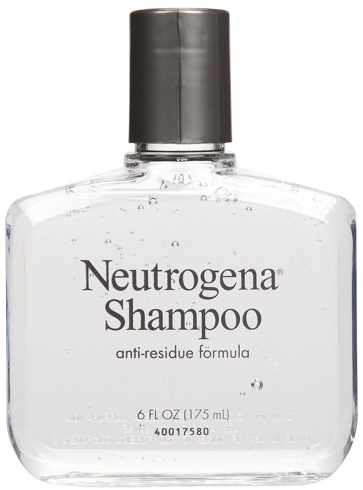 To restore your hair to its natural state and remove buildup, incorporate a clarifying shampoo, like Neutrogena's Anti-Residue Shampoo.