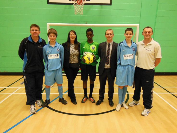Pinnacle PSG donated a football kit to school children in Slough