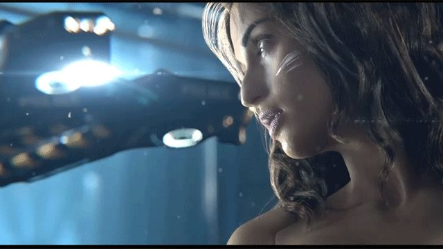 Here's a not very complicated idea. A new trailer comes out. It's cool. Someone makes some GIFs out of it. The newest member of our team, Gergő Vas, figured he'd start us off with yesterday's trailer for Cyberpunk 2077, the new game from CD Projekt, makers of The Witcher.
