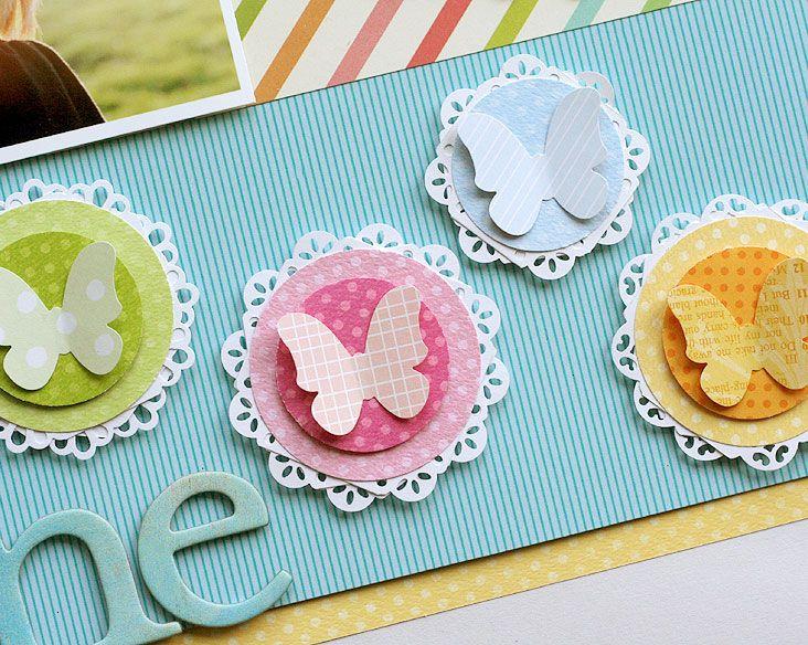 DIY Butterfly Accents www.fiskars.com