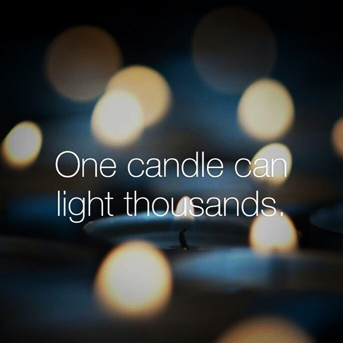 "❤️Beloved, thousands of candles can be lit from one single candle, and the life of that candle will not be shortened.  Joy will never decrease by sharing Jesus's light, it will only increase His love to those whom it is given.  So, share His light, share His love, and let's light the world! ❤️.  ""Ye are the light of the world. A city that is set on an hill cannot be hid. Neither do men light a candle, and put it under a bushel, but on a candlestick; and it giveth light unto all that are in…"