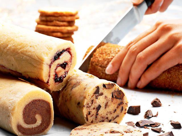 En dej fire slags småkager