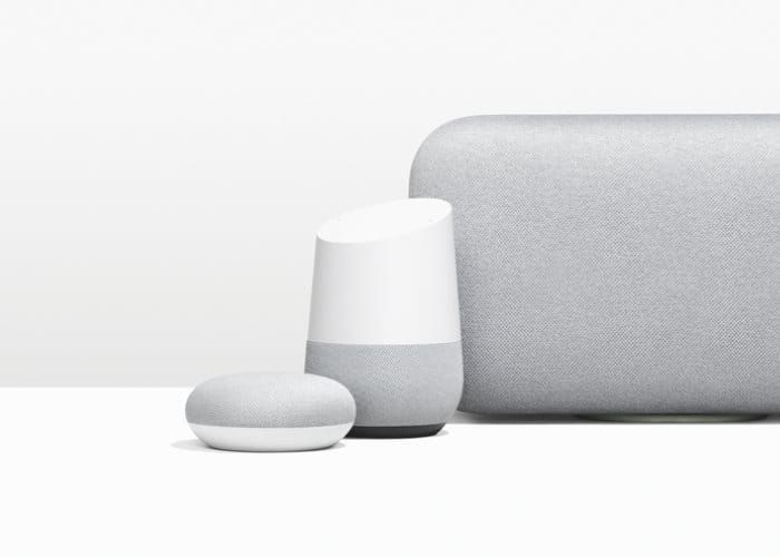 New Google Home Device With Display In The Works Google Already Has A Range Of Google Home Smart Speakers And No Google Home Geeky Gadgets Speaker Design