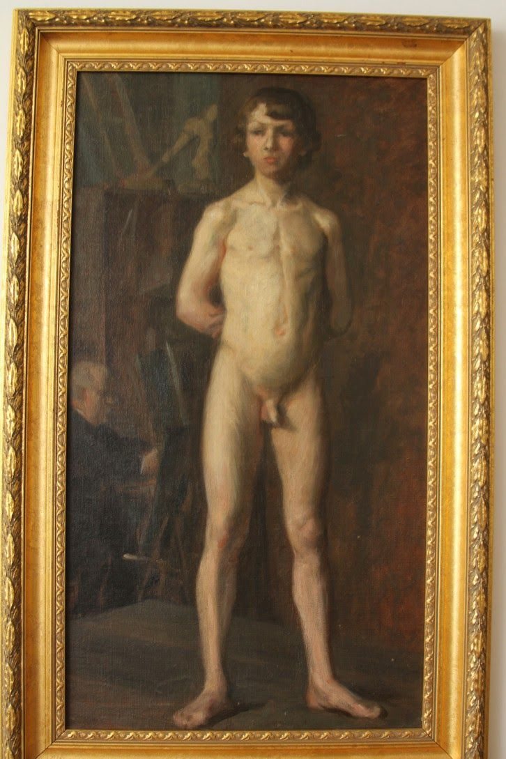 Artistic nude boy photos