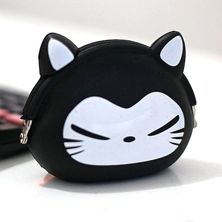Coin Pouch Kucing Hitam 1 Rp 50.000