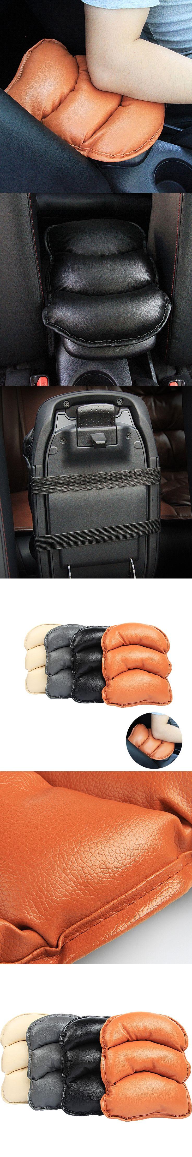 Car Auto Center Console Armrest Pad Cover Cushion For Skoda Octavia A5 A7 Fabia Rapid Yeti Superb Mazda 2 3 5 6 CX-3 CX-5 CX-7