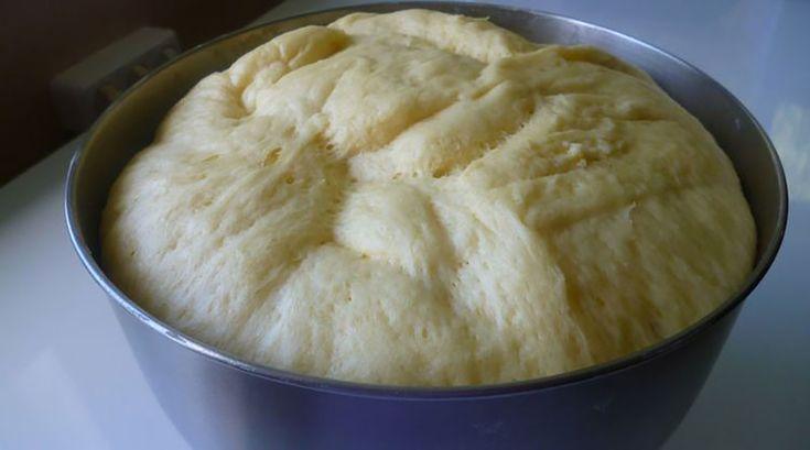 Aluat cu drojdie pentru orice produs de patiserie. Este foarte moale și gustos și poate fi păstrat la frigider până la 7 zile! - Bucatarul