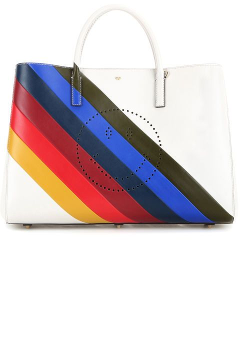 10 striped statement pieces you need in your closet: Anya Hindmarch bag