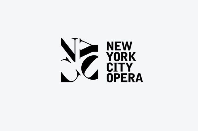 Logo: New York City Opera.