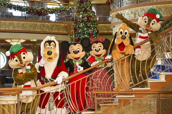 "Disney Cruise Line bringing ""Holidays on the High Seas"" in late 2013 - Christmas"