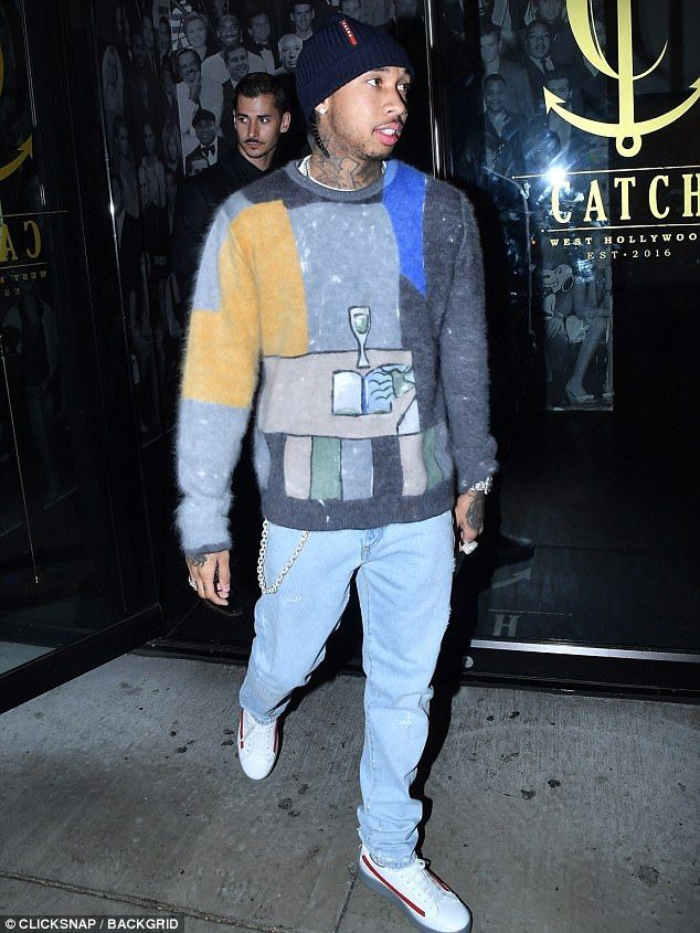 Tyga pictured for first time since Kylie Jenner gave birth  He was the long term love and now ex beau of Kylie Jenner.  And Tyga partied the night away at Catch in West Hollywood California on Friday as he was pictured for the first time since his ex gave birth to her child with Travis Scott.  The 28-year-old rapper who shares five-year-old son King Cairo Stevenson with Blac Chyna was flying solo for his evening out.  Stormi-ng the party scene!Tyga partied the night away at Catch in West…