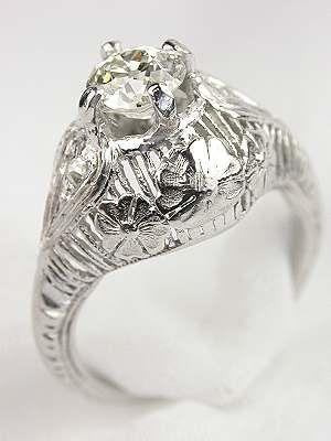 edwardian antique engagement ring rg 2430 engagement