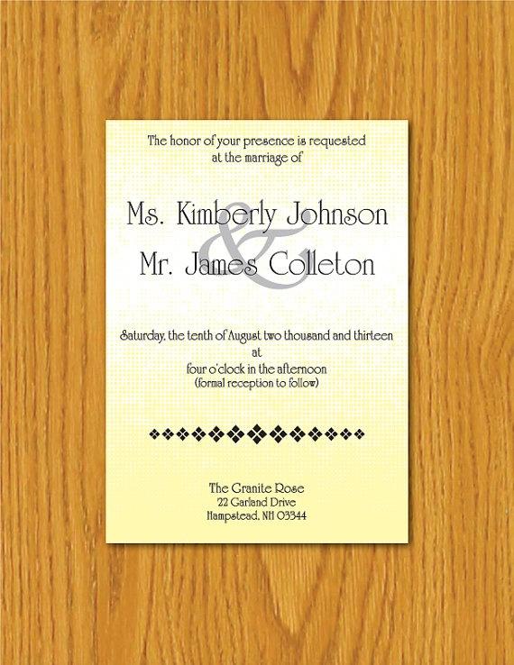 Wedding Invitations Printable was luxury invitation layout