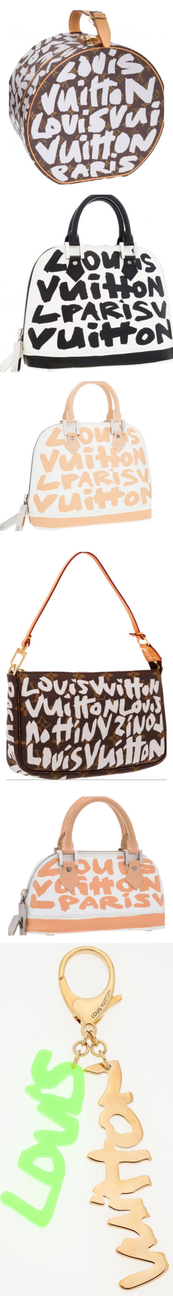 Louis Vuitton Graffiti. Pinterest:@JORDANLANAI