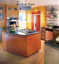 Curing an Outside Door into the Kitchen? This Feng Shui situation threatens the health, safety and money in the home. Hang a Bamboo Flute to immediately cure this. Feng Shui #Kitchen