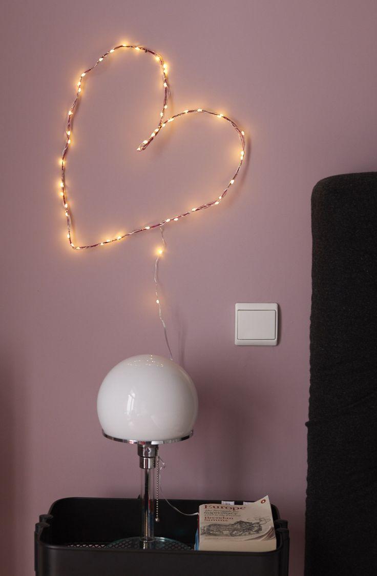Die besten 25 led lichterkette ideen auf pinterest led - Draht lichterkette ...