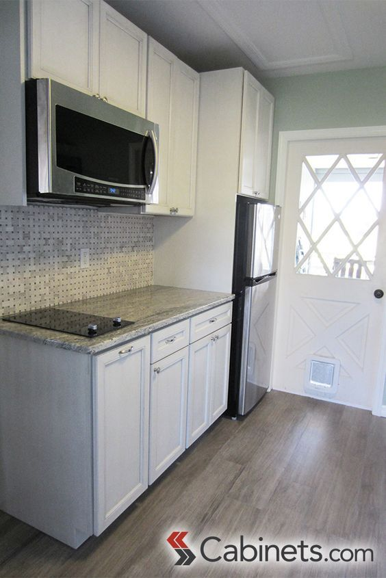 Cute Cabinet Compact Cute White Kitchen In A Mother In