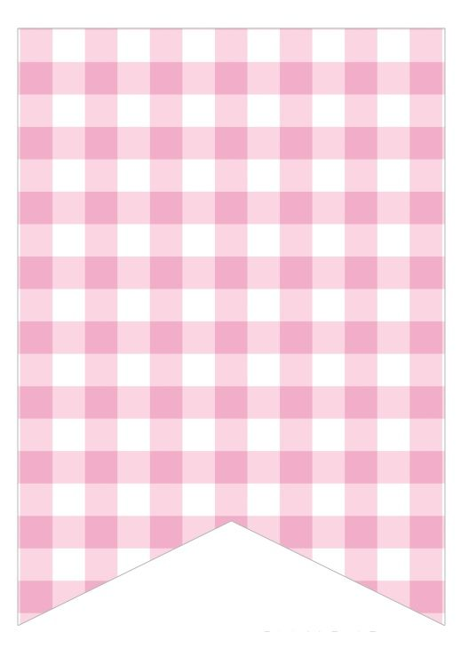 light pink gingham