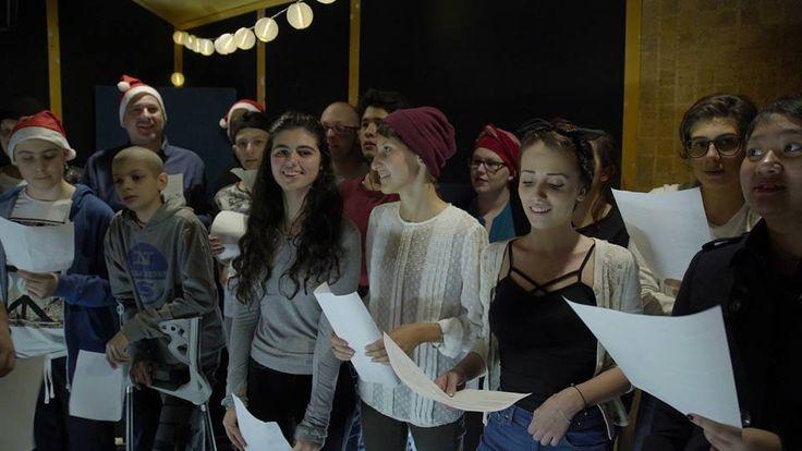 Istituto dei Tumori: la canzone dei giovani pazienti porta il Natale in corsia   Fattore k - Passa il messaggio