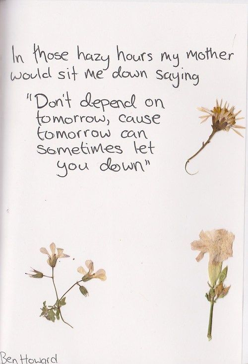 Ben Howard, Are You Ready #lyrics #quote