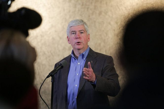 FLINT, MI -- Gov. Rick Snyder says he wants to testify before Congress on the Flint water crisis