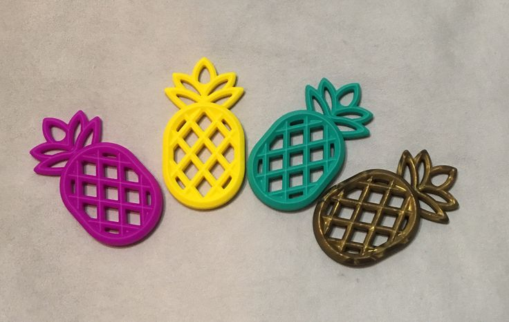 Our gorgeous Logan and Alice Pineapple Teether is made from non toxic food grade silicone making it completely safe for your little Bub to munch away on. They are super soft and flexible and easy f...